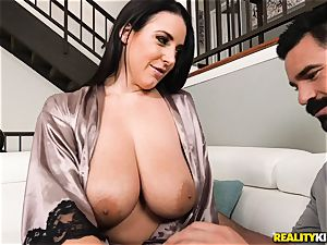 busty innate titties Angela white humped by Charles