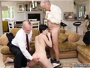 hefty anal invasion internal cumshot and inexperienced faux-cock rail fellatio She even gets caboose porked until the folks