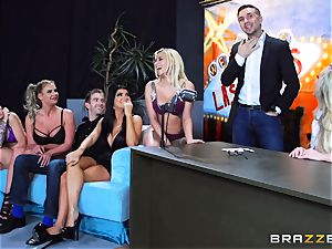 molten dirty joy with Brandi love and her gals