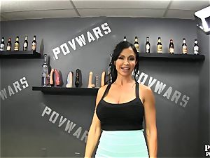 pov Wars jewels Jade gets pounded by 5 men in a row