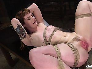 sub flogged while gargling man sausage