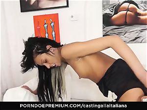 audition ALLA ITALIANA - wild fuck-a-thon with local unexperienced