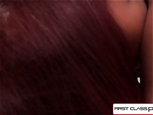 FirstClassPOV - see skin Diamond deep-throating a phat hard-on