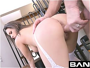 Ashley Adam never gives up the chance of a uber-cute anal pummel