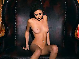 slim petite Ariana Marie stellar rubber solo getting off