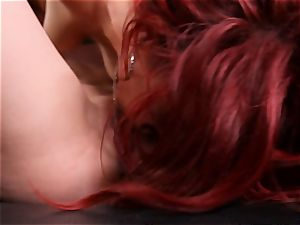 antsy twats of Jayden Cole and Kenna James eat cunt