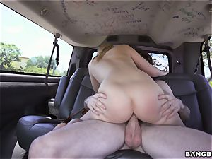 Bailey Brooke pounded on the Bangbus