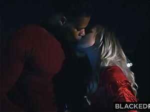 BLACKEDRAW boyfriend with cuckold dream shares his ash-blonde girlfriend