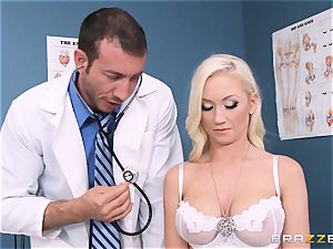 Madison Scott is brilliantly cured by her dirty doctor