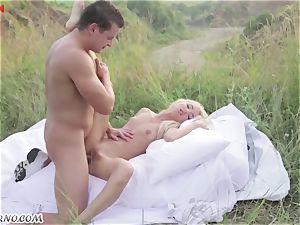 Victoria Puppy - naked beauty in nature
