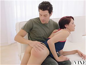 VIXEN Bad gal Gets disciplined By greatest buddies brutha