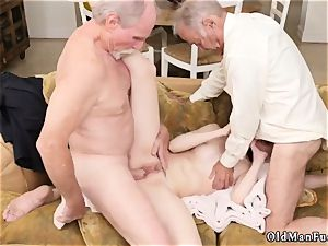 elderly cougar striptease and mummy youthfull patron crony Frannkie heads down the Hersey highway