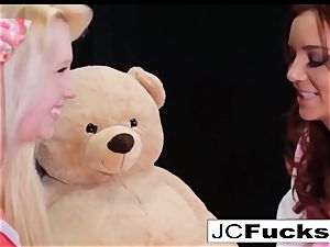 meaty bear cub fantasy have fun with 2 thrilled lezzies