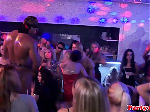 party amateur cockblowing cock at soiree