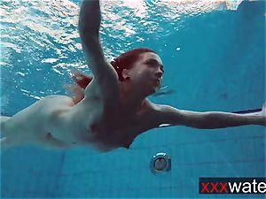 bubble butt underwater Katrin