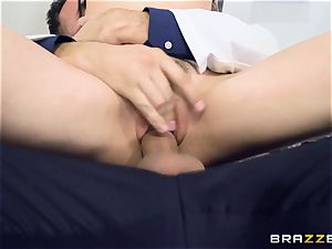 Marley Brinx gets her labia deeply explored at the doctors