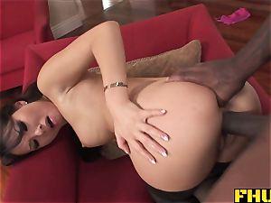 Fhuta thick dark-hued jizz-shotgun splits cock-squeezing asian