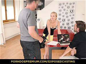 uncovered casting - bootylicious stunner fuck-a-thon expertise test in casting