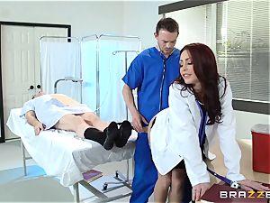 marvelous doctor Monique Alexander plows her trainee
