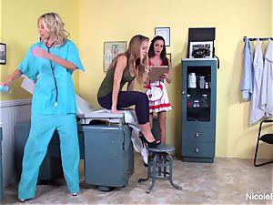 Nicole's girly-girl doc Visit