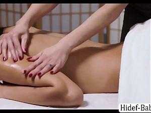 torrid massagist Darcie Dolce massage Victoria obese so romantic and licks her twat