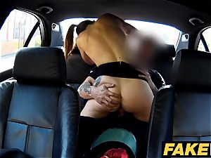 fake Cop Copper blows a load over geeky chicks glasses