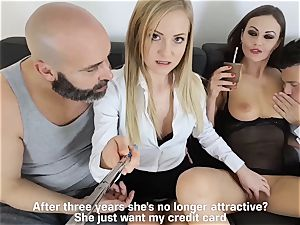 LOS CONSOLADORES - molten swinger foursome with steamy stunners