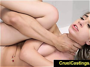 Joseline Kelly restrained while adoring lollipop