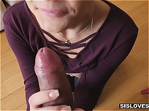 Stepsis loves to tease her brutha when parents are not home