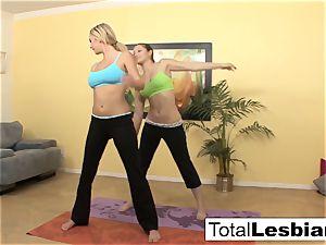 adorable yoga girls Brett