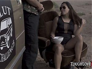 TOUGHLOVEX whore contest with Sofia Nova