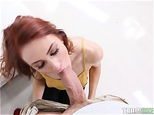 Alyce Sage hammered in her ginger patch
