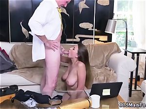 Latino daddy and ambisexual cheating guy first-ever time Ivy impresses with her ginormous fun bags and rump