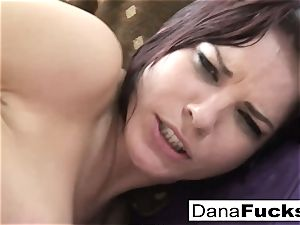 Dana bj's fuck-stick and gets pummeled