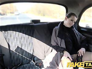 fake taxi Czech gal hungers a hard man rod