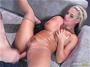 Phoenix Marie gets banged in the backside by huge dicked Danny D