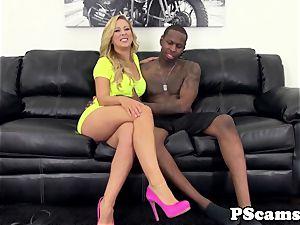 web cam stunner Cherie Deville bi-racial ravages