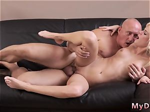 Real inexperienced dad crony s daughter first time horny blond wants to attempt someone lil bit