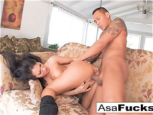 Asa having some fine hook-up with her man toy Keni