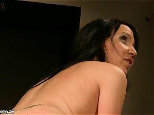 Kathia Nobili let a sizzling woman stretch gams how wet gash