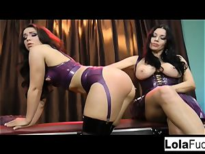 Lola gets predominated and flagellated