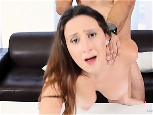 sumptuous beginner Ashley Adams works her casting perfectly