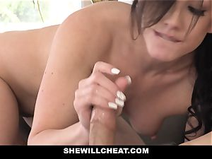 SheWillCheat super-steamy wife Cheats with hubbies fucking partner