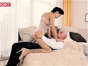 LETSDOEIT - wild couple Has Retro desire harsh hook-up